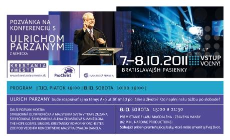 Konferencia s ULRICHOM PARZANYM