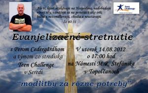 Evanjelizačné turné s Perom Cedergårdhom