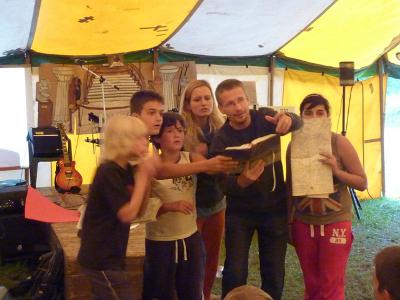 7 biblických divov sveta – Letný tábor 2012
