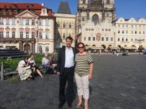 Služba v Prahe v KMS a zbore SŽ