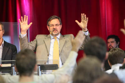 Nové priestory Slova života v Bratislave a návšteva misionára Christiana Åkerhielma
