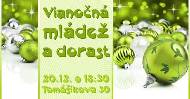 Vianočná mládež a dorast – 20.12.2013