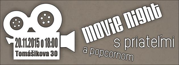 Movie night – 20.11.2015