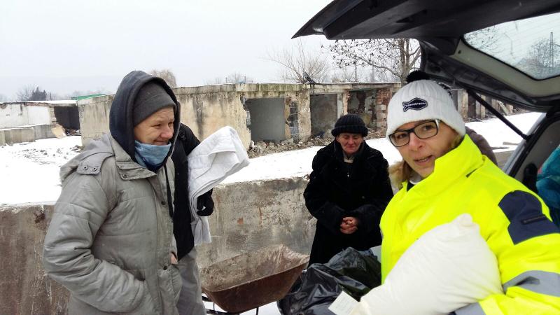 Služba ľuďom bez domova – Anka Debnárová