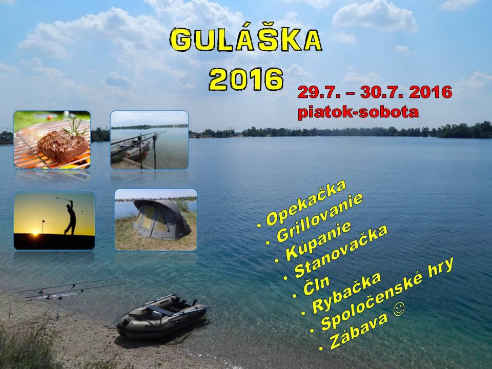 Guláška – 29.-30.7.2016