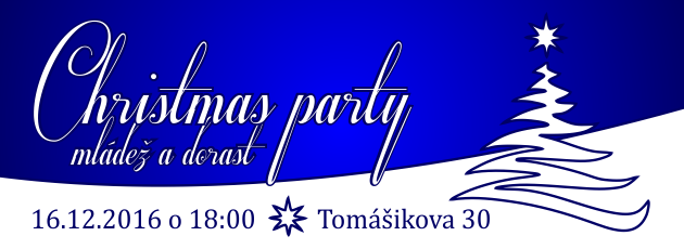 Christmas party mládeže a dorastu – 16.12.2016