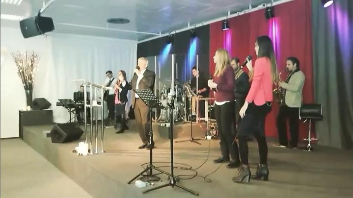 Kresťanské stretnutie Srbov a Slovákov z Vojvodiny v Slove života Bratislava