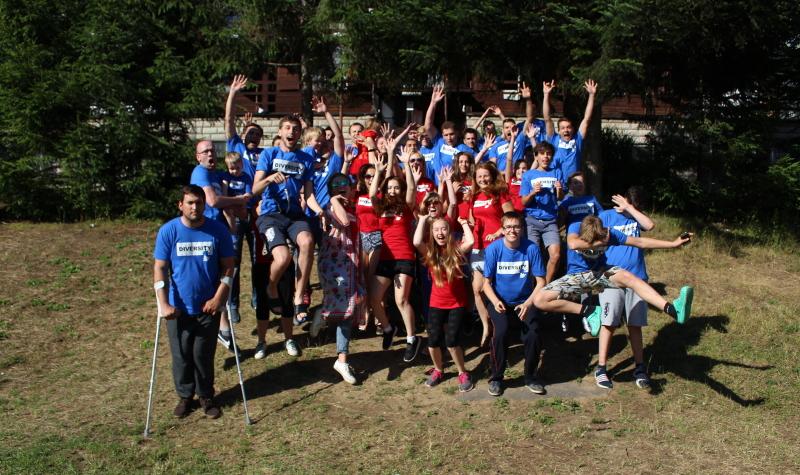 Mládežnícky camp Diversity