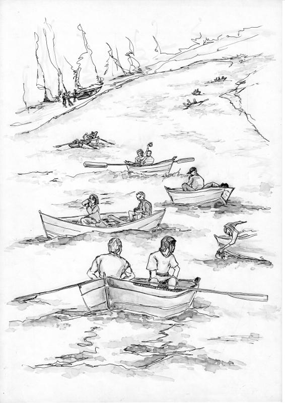 Maratón Duše – Fialová rieka – poviedka Martina Hunčára