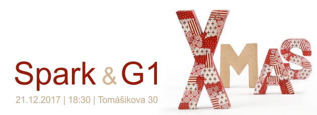 Spark & G1 – Vianočná party – 21.12.2017