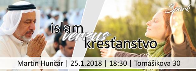 Islam verzus kresťanstvo – 25.1.2018