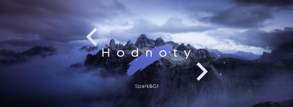 Hodnoty – Spark & G1 tábor 2019