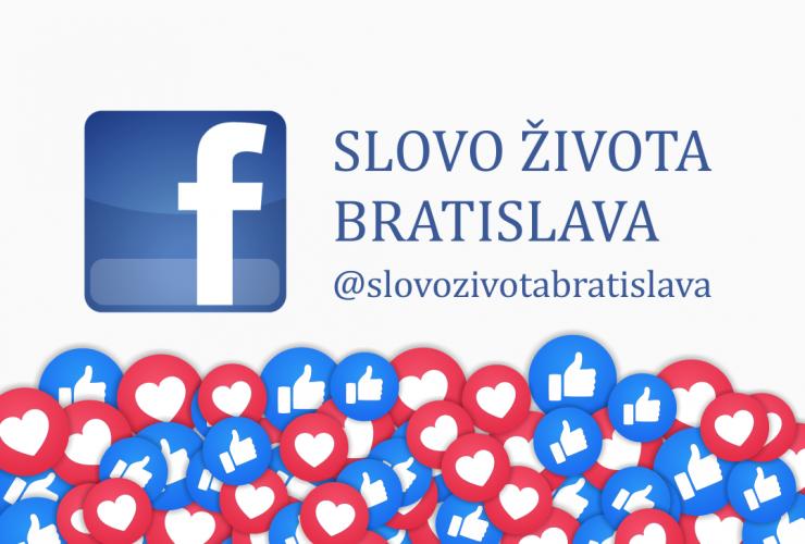 Slovo života Bratislava na Facebooku a ďalších sociálnych sieťach