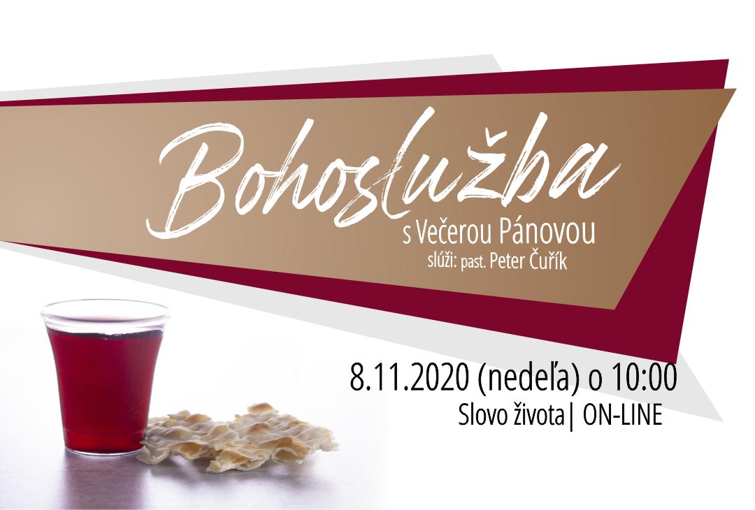 Pripravte sa na bohoslužbu s Večerou Pánovou – 8.11.2020 – ONLINE
