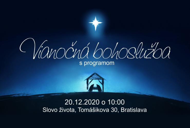 Vianočná bohoslužba 20.12.