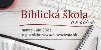 Biblická škola 2021 – online cez ZOOM